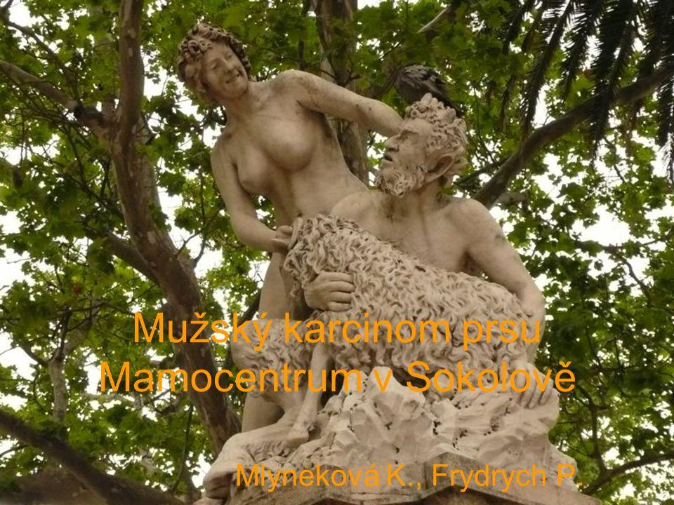 Mužský karcinom prsu Mamocentrum v Sokolově