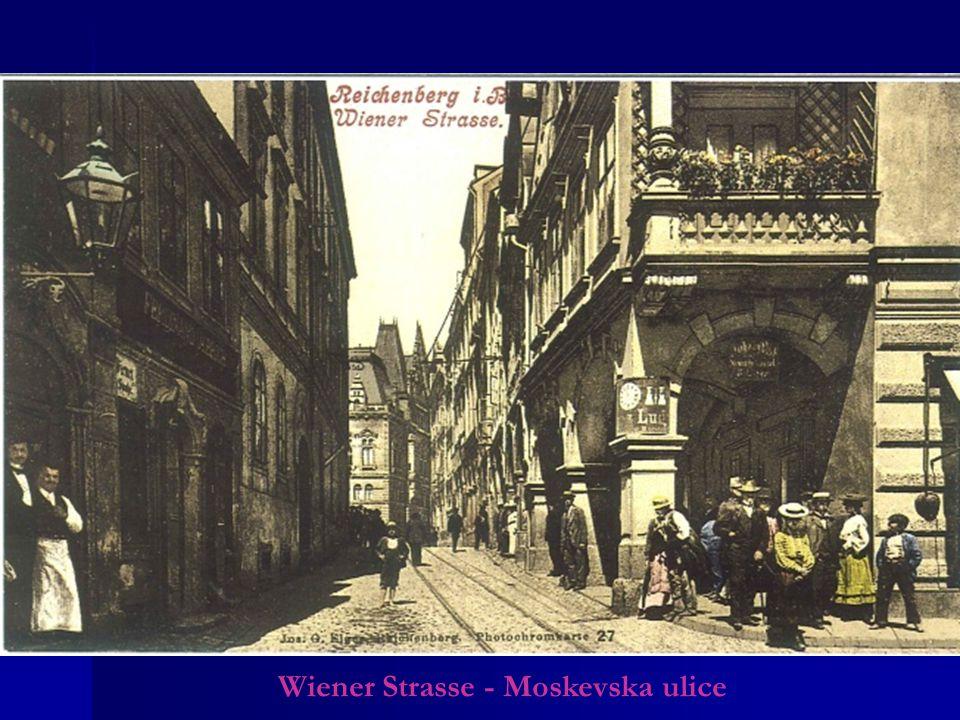 Wiener Strasse - Moskevska ulice