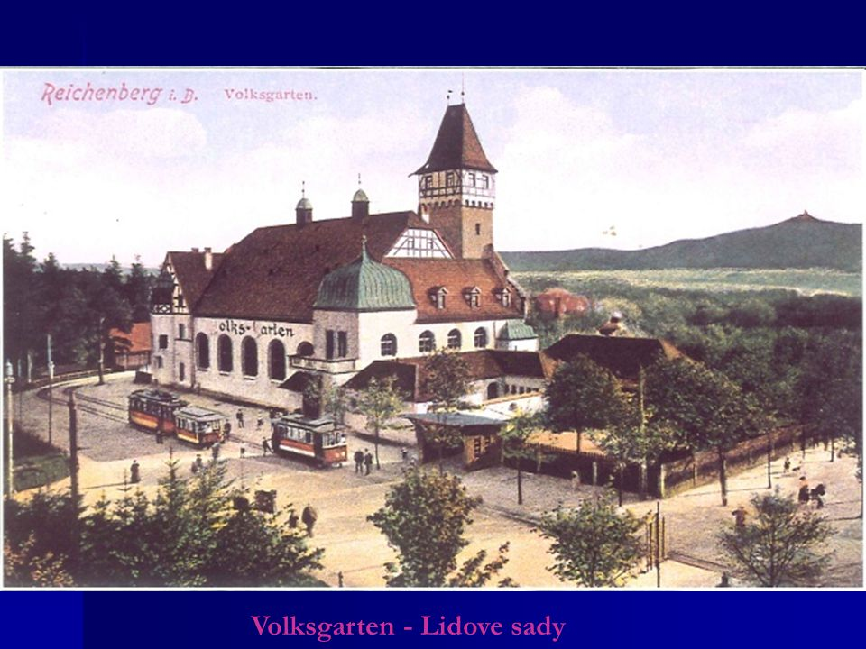 Volksgarten - Lidove sady