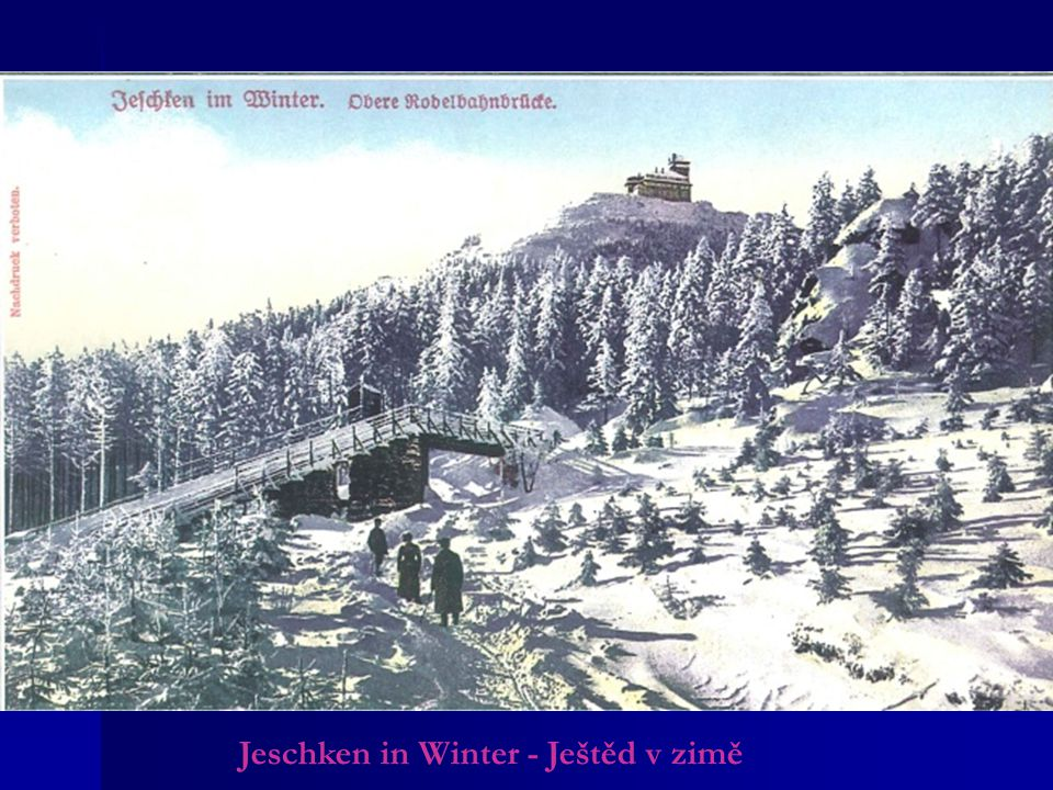 Jeschken in Winter - Ještěd v zimě