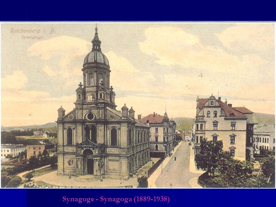 Synagoge - Synagoga (1889-1938)