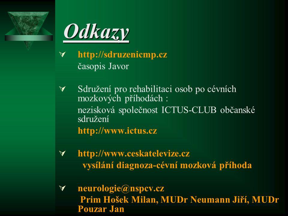 Odkazy http://sdruzenicmp.cz časopis Javor
