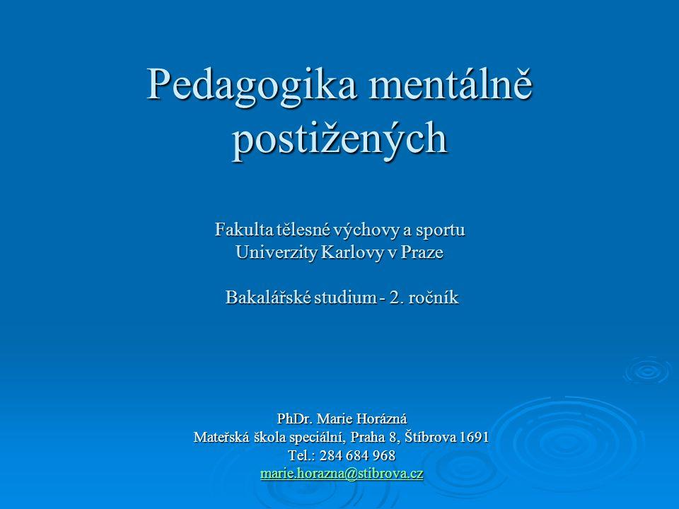 Mateřská škola speciální, Praha 8, Štíbrova 1691