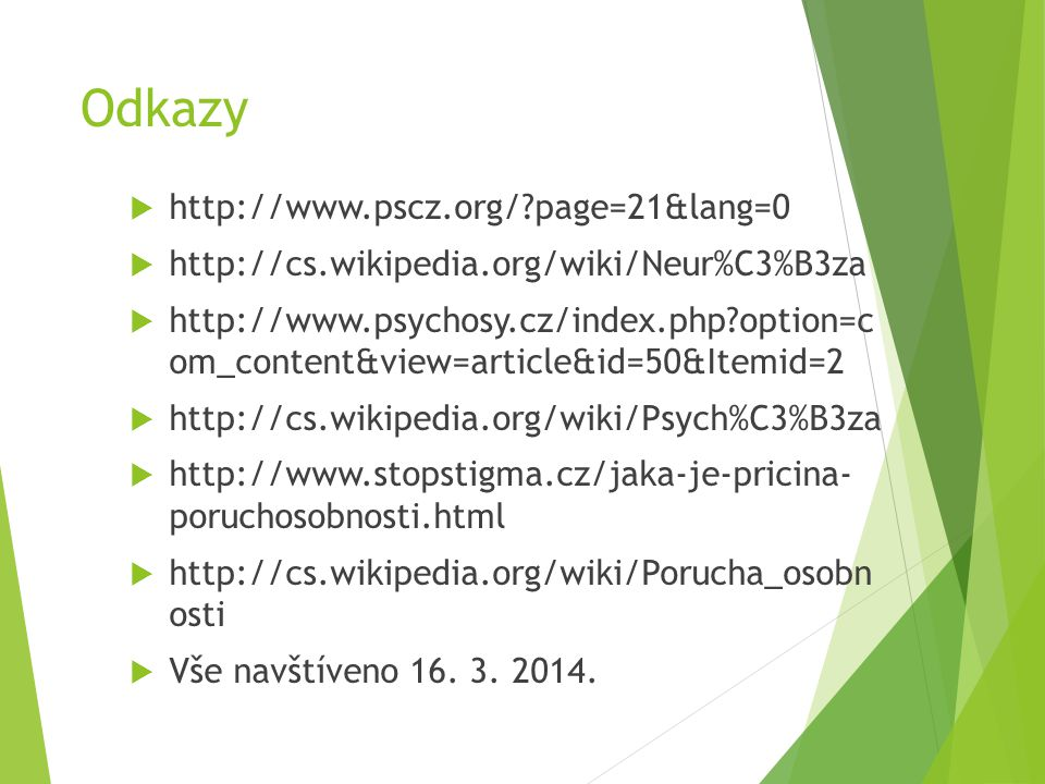 Odkazy http://www.pscz.org/ page=21&lang=0