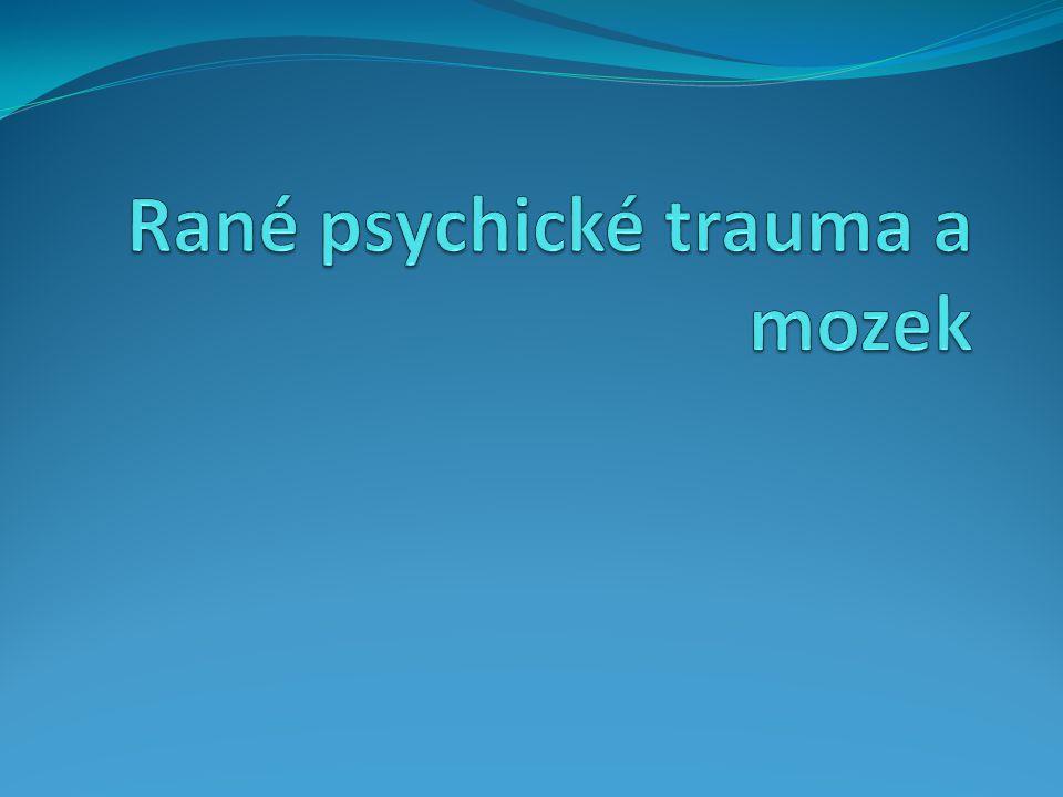 Rané psychické trauma a mozek