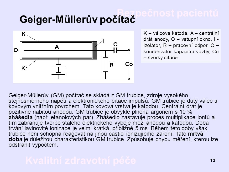 Geiger-Müllerův počítač