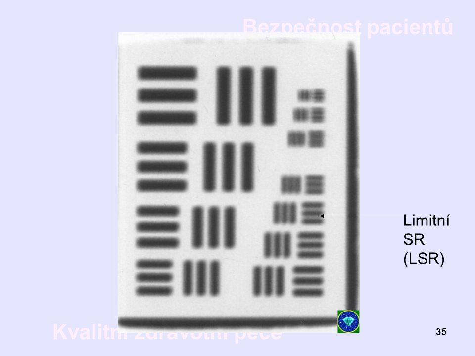 Limitní SR (LSR)