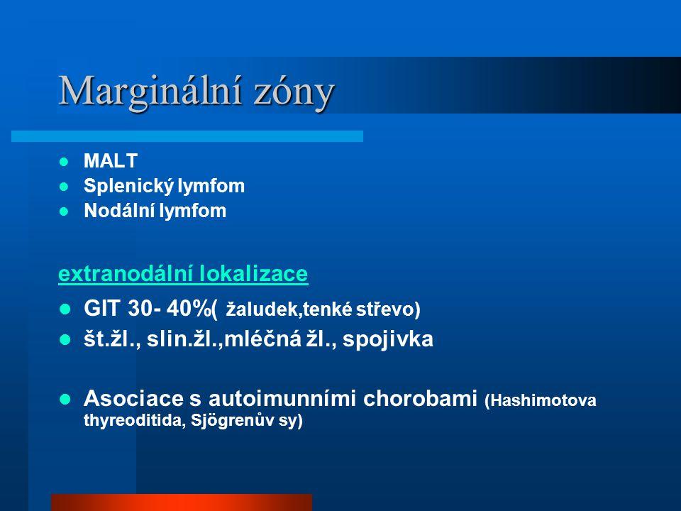 Marginální zóny extranodální lokalizace