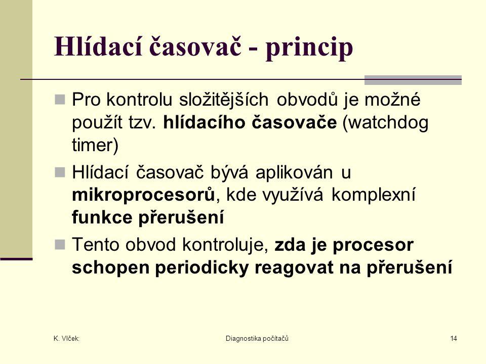 Hlídací časovač - princip