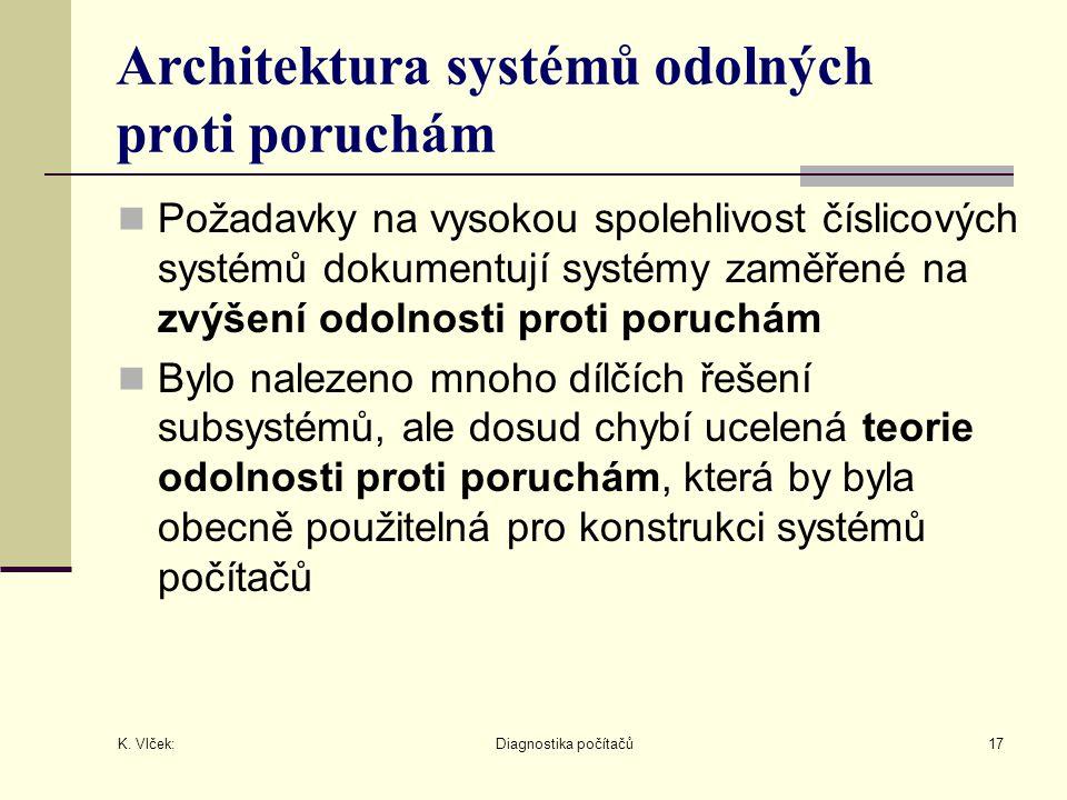 Architektura systémů odolných proti poruchám