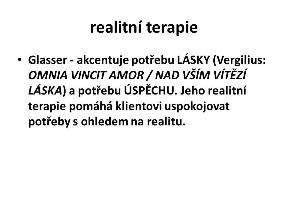realitní terapie