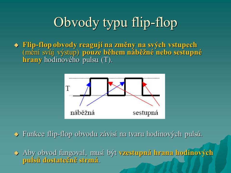 Obvody typu flip-flop