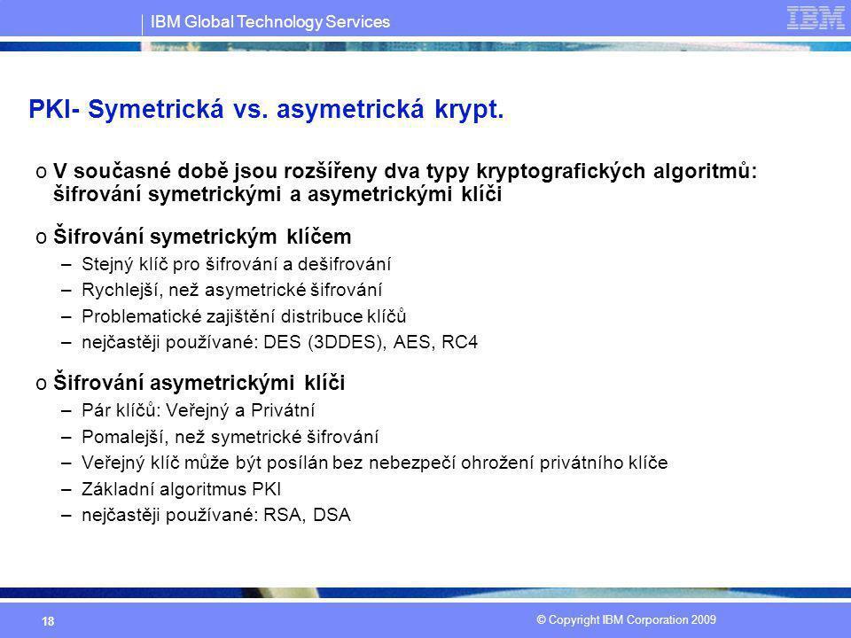 PKI- Symetrická vs. asymetrická krypt.
