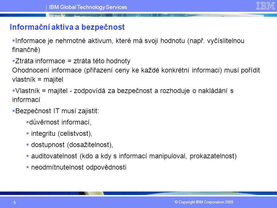 Informační aktiva a bezpečnost