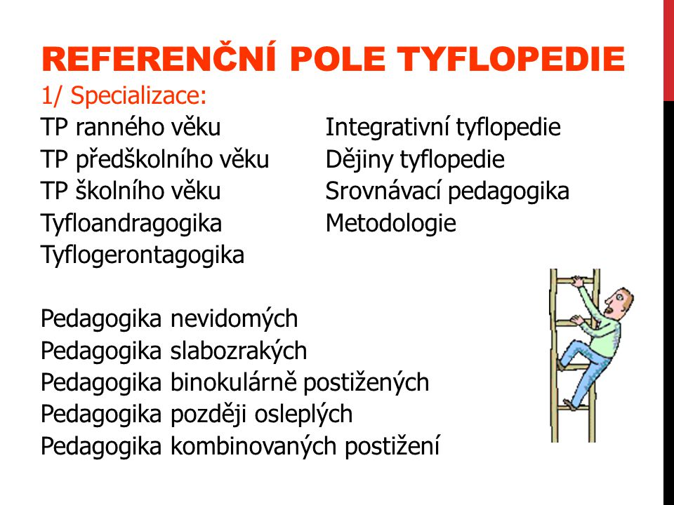 Referenční pole tyflopedie