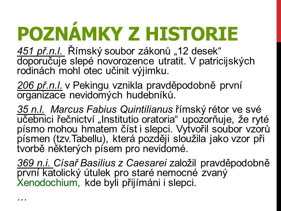 Poznámky z historie