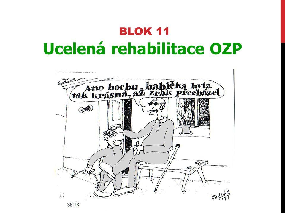 Ucelená rehabilitace OZP