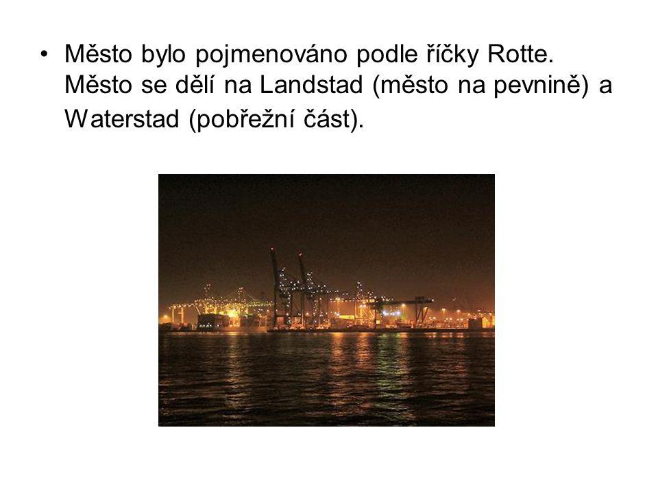 Město bylo pojmenováno podle říčky Rotte