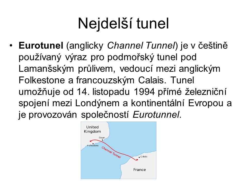 Nejdelší tunel