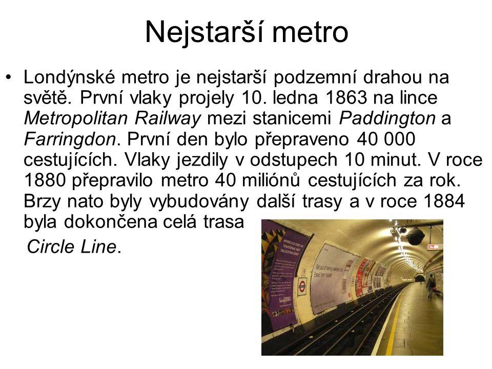 Nejstarší metro