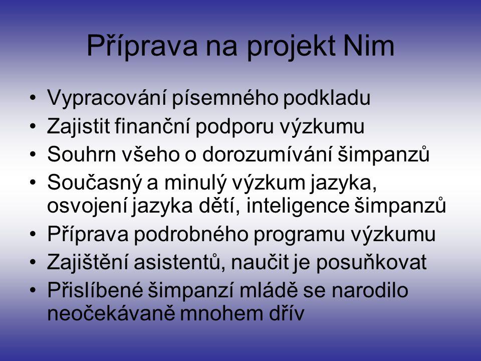 Příprava na projekt Nim