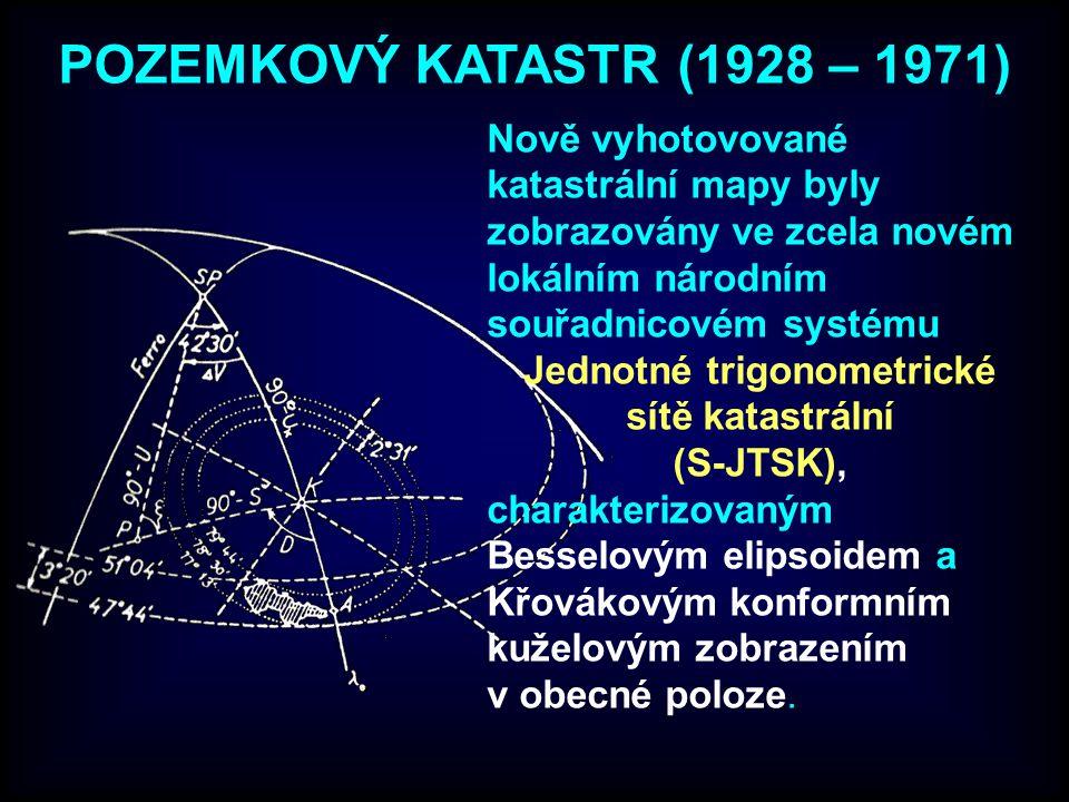 Jednotné trigonometrické sítě katastrální