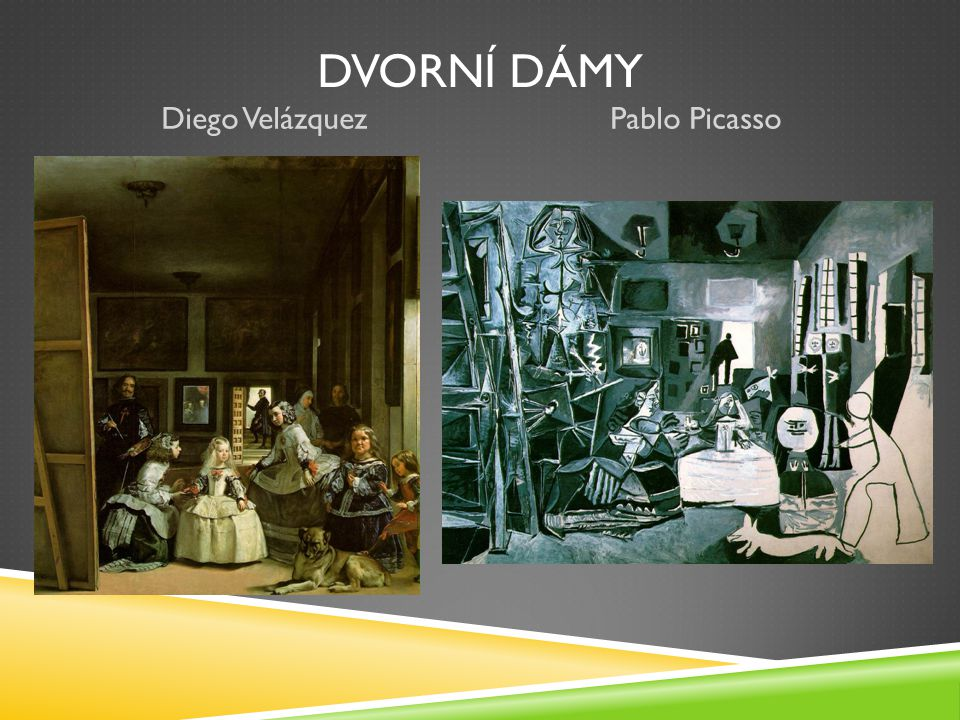Dvorní dámy Pablo Picasso Diego Velázquez