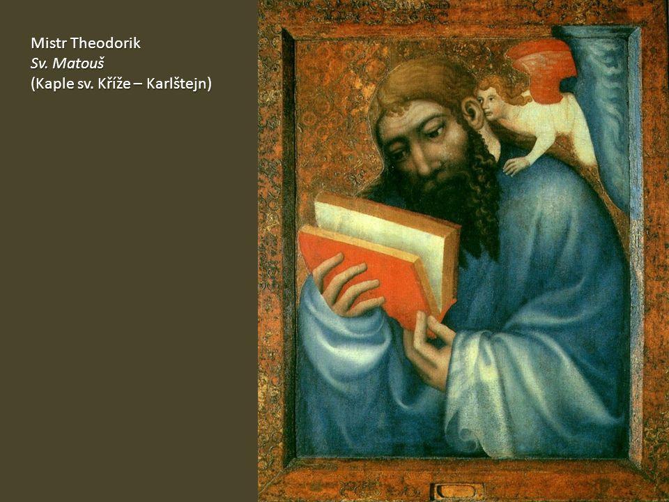 Mistr Theodorik Sv. Matouš (Kaple sv. Kříže – Karlštejn)