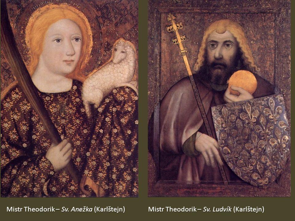 Mistr Theodorik – Sv. Anežka (Karlštejn) Mistr Theodorik – Sv