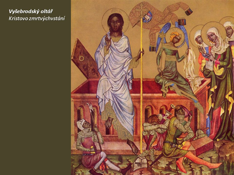 Vyšebrodský oltář Kristovo zmrtvýchvstání