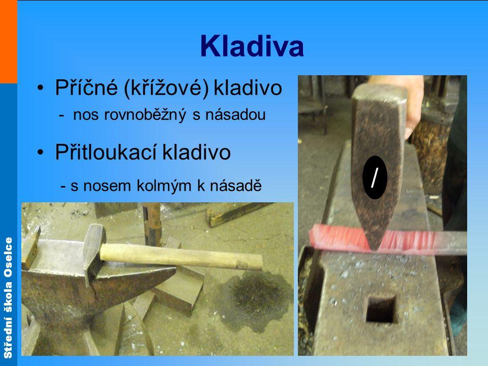 Kladiva / Příčné (křížové) kladivo Přitloukací kladivo