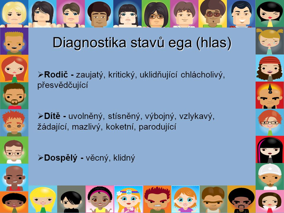 Diagnostika stavů ega (hlas)