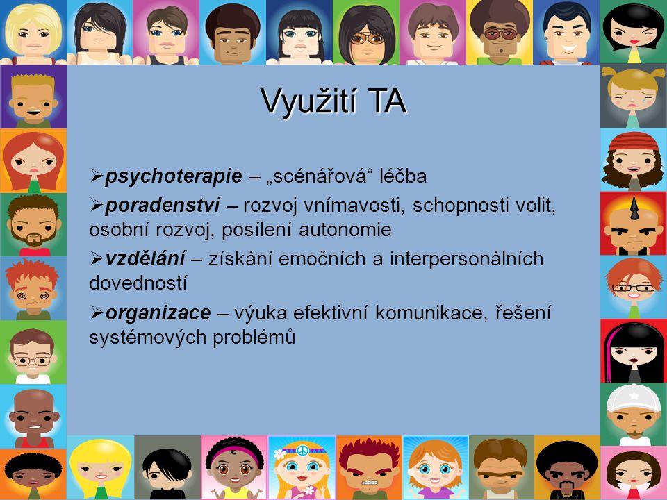 """Využití TA psychoterapie – """"scénářová léčba"""