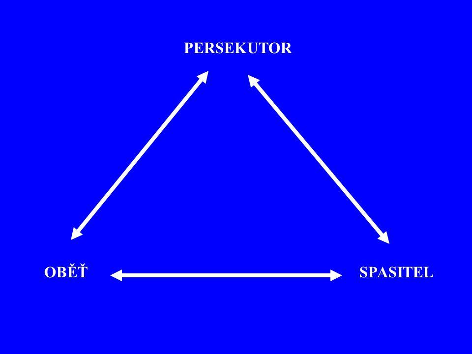 PERSEKUTOR OBĚŤ SPASITEL