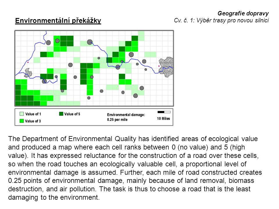 Environmentální překážky