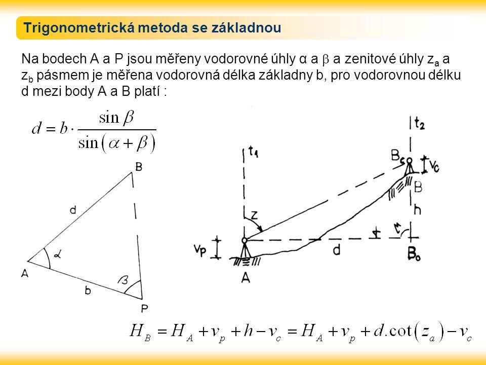 Trigonometrická metoda se základnou