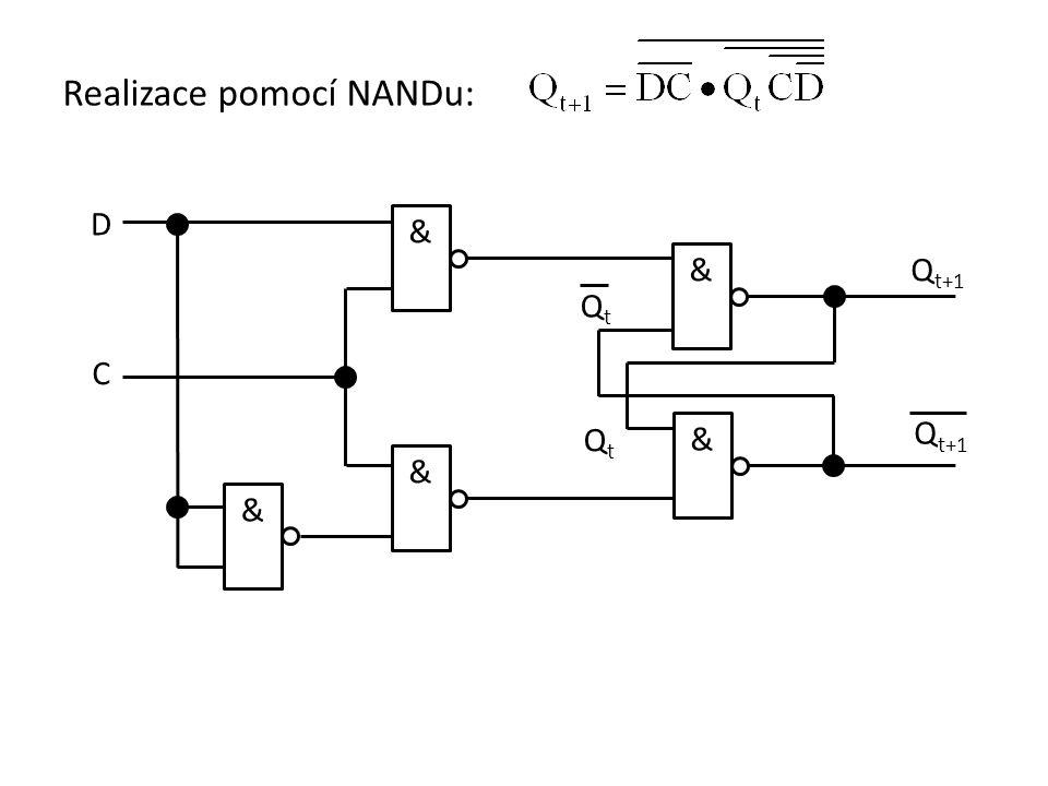 Realizace pomocí NANDu: