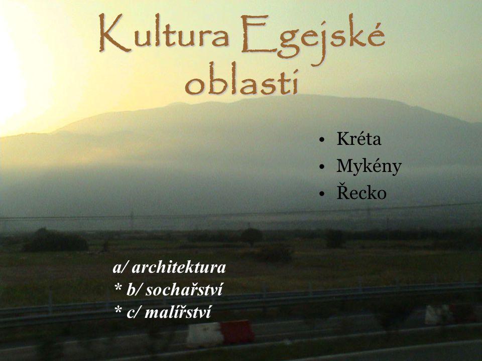 Kultura Egejské oblasti