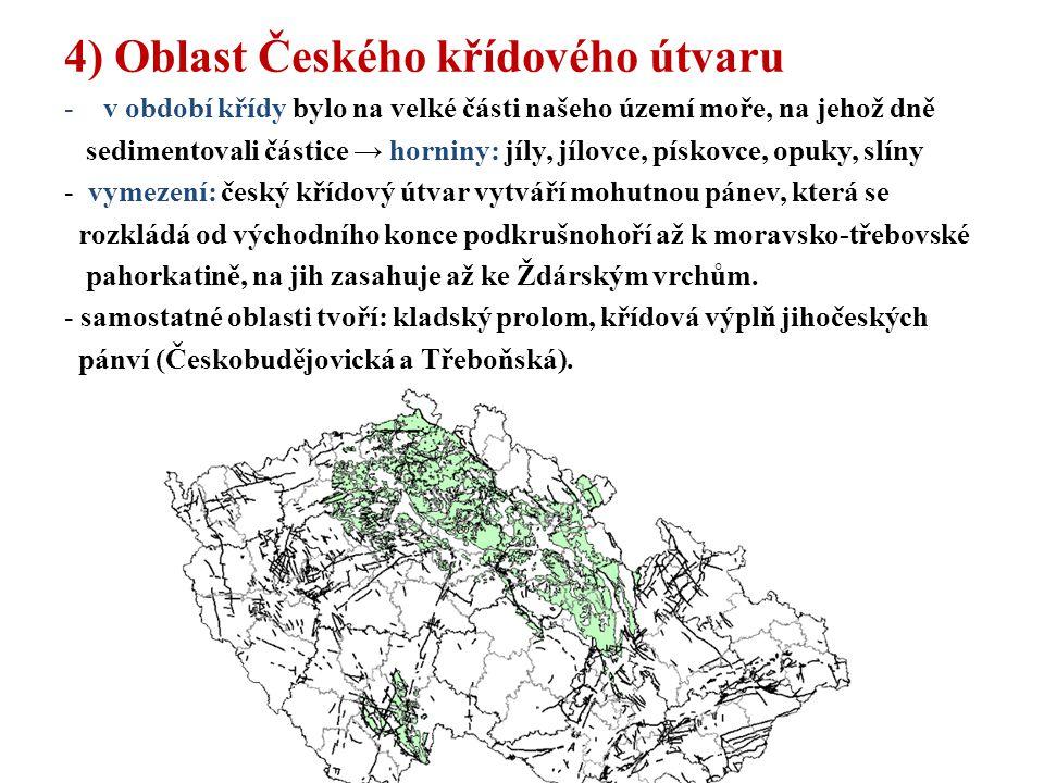 4) Oblast Českého křídového útvaru