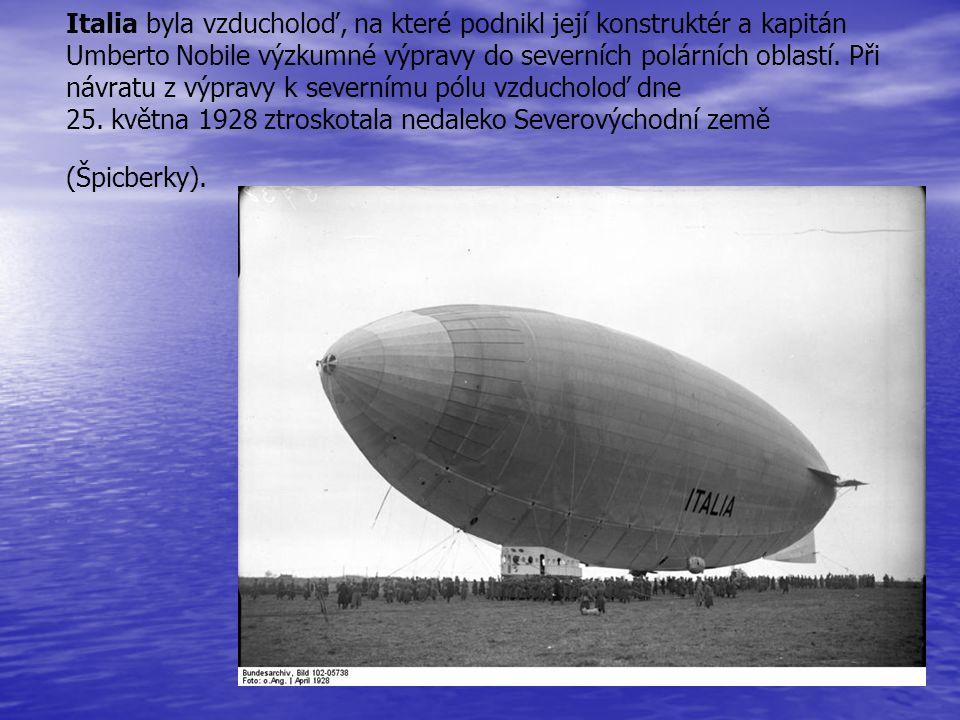 Italia byla vzducholoď, na které podnikl její konstruktér a kapitán Umberto Nobile výzkumné výpravy do severních polárních oblastí.