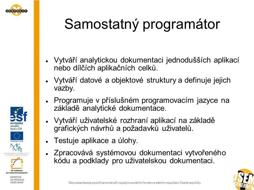 Samostatný programátor