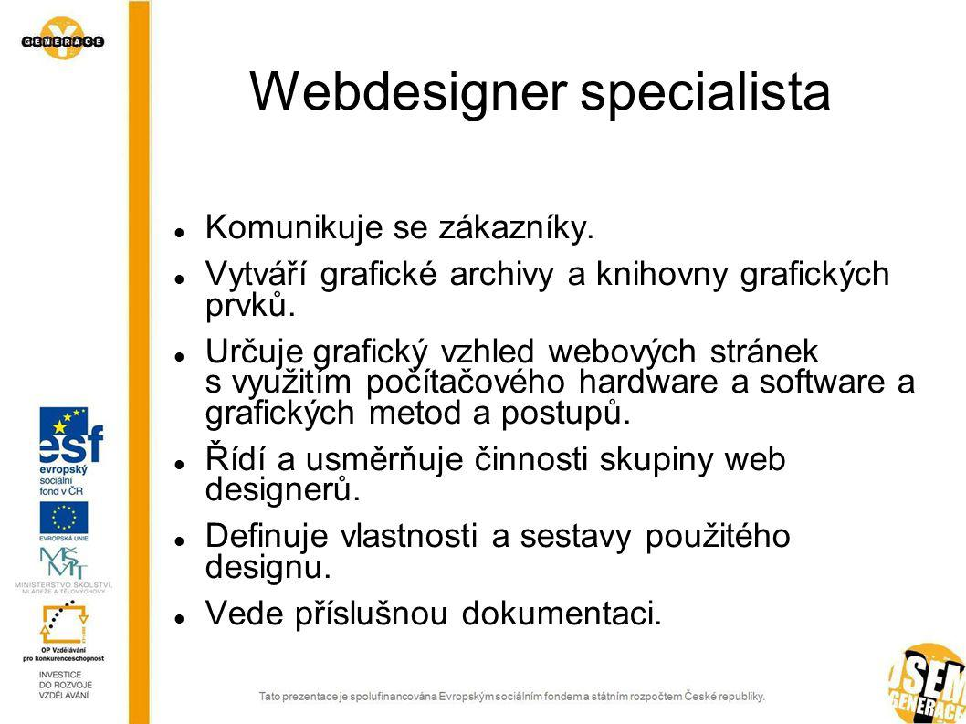 Webdesigner specialista