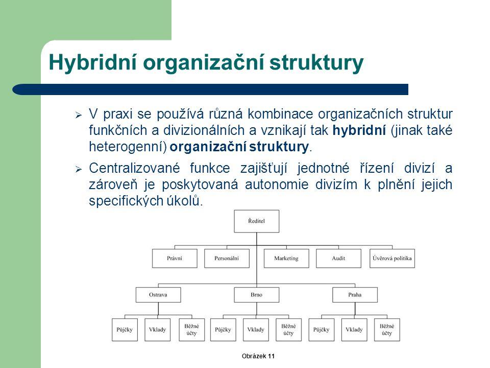 Hybridní organizační struktury