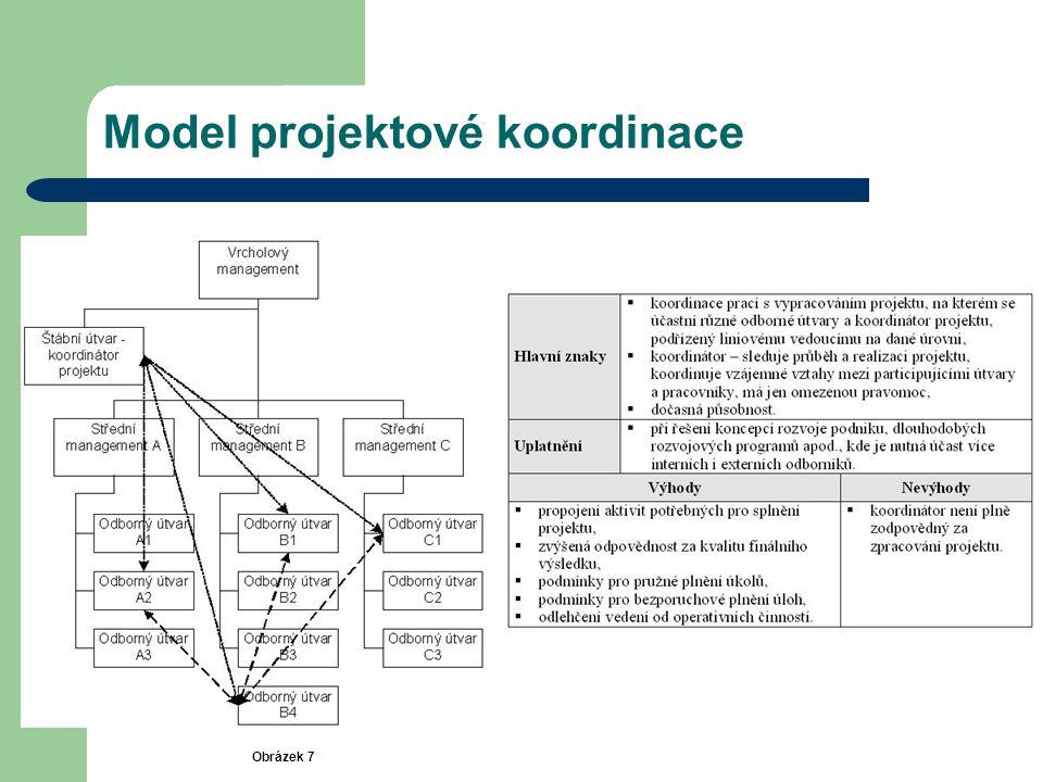 Model projektové koordinace