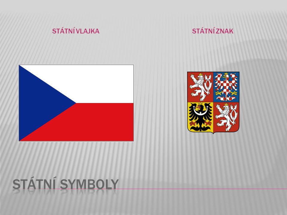 státní vlajka státní znak Státní symboly