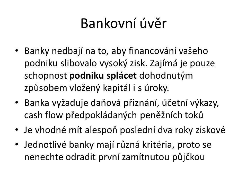Bankovní úvěr