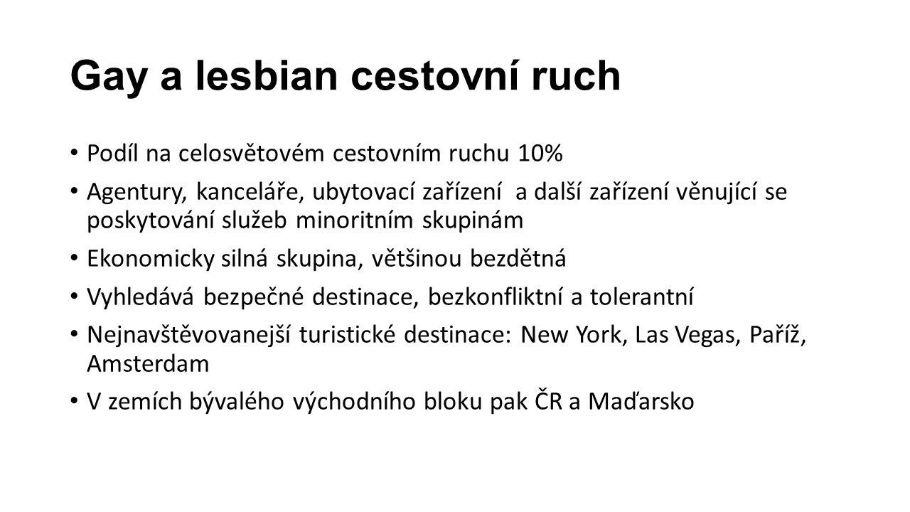 Gay a lesbian cestovní ruch