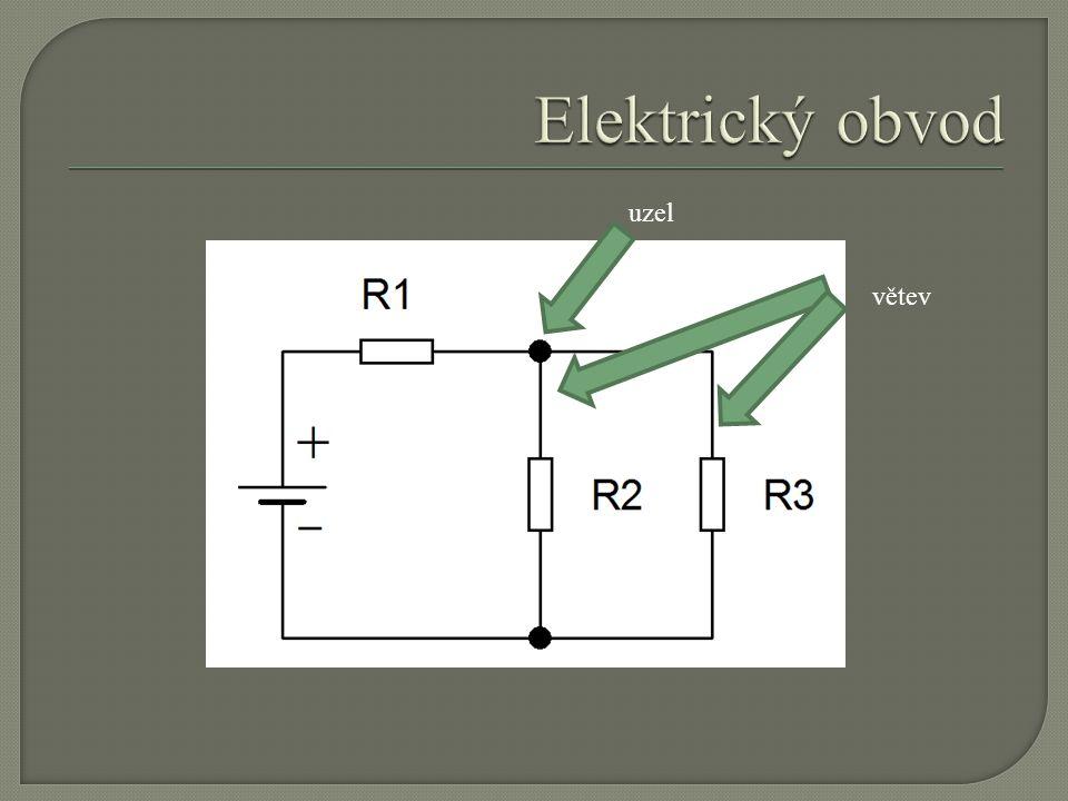 Elektrický obvod uzel větev