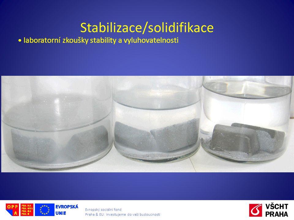 Stabilizace/solidifikace