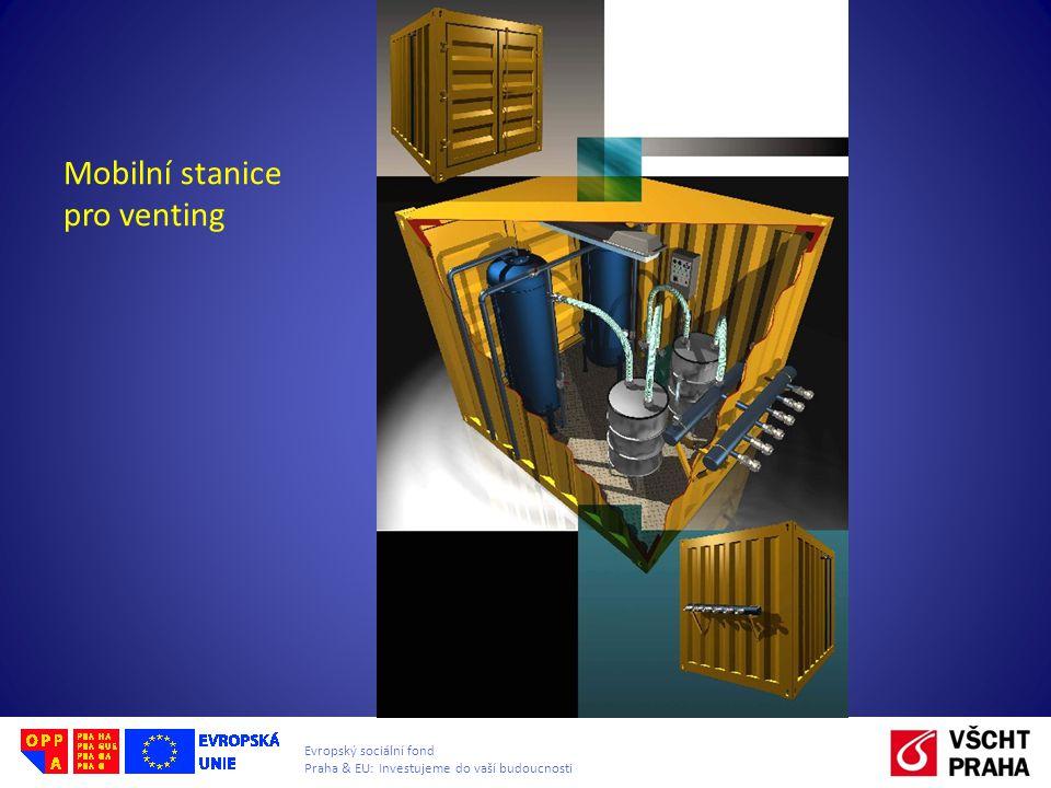 Mobilní stanice pro venting